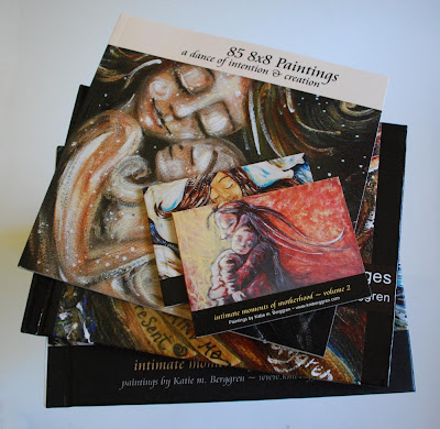 85 8×8 Paintings: a dance of intention & creation ~ the printed book is available