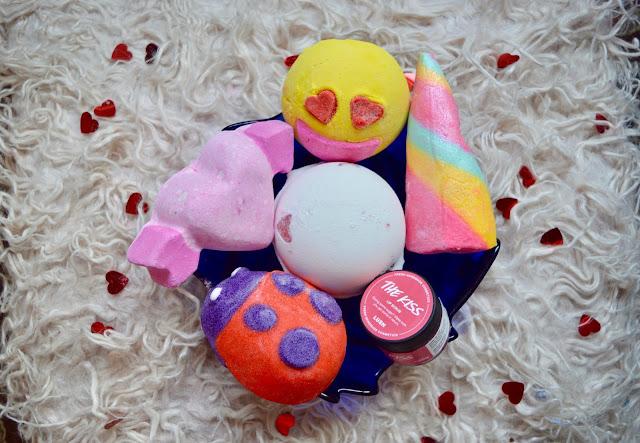 Lush valentines day haul