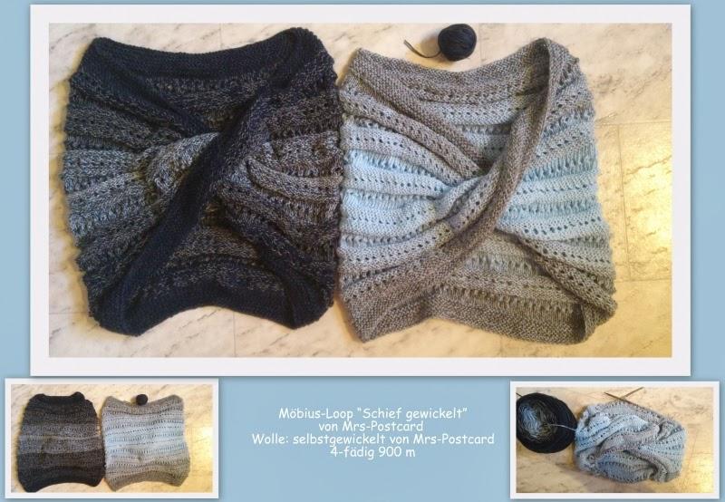 Sandras Handarbeiten Mit Wolle Und Basteleien Mit Stempel Möbius