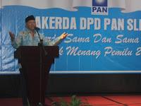 PAN Tetap Usung Zulkifli  Hasan Bakal Capres 2019