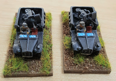 Luftwaffe detachment with 88mm and 20mm picture 2