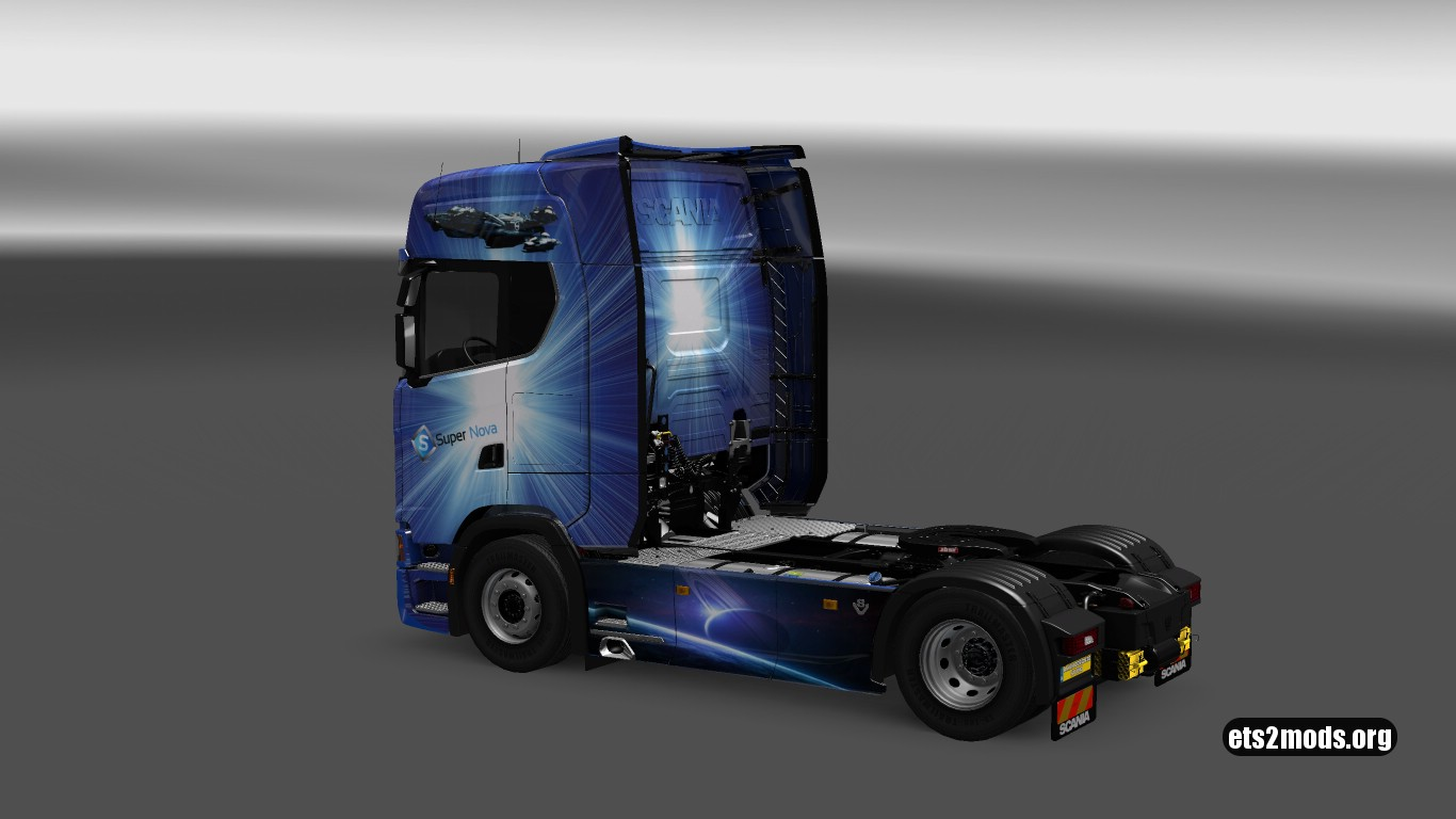 Supernova Skin for Scania S
