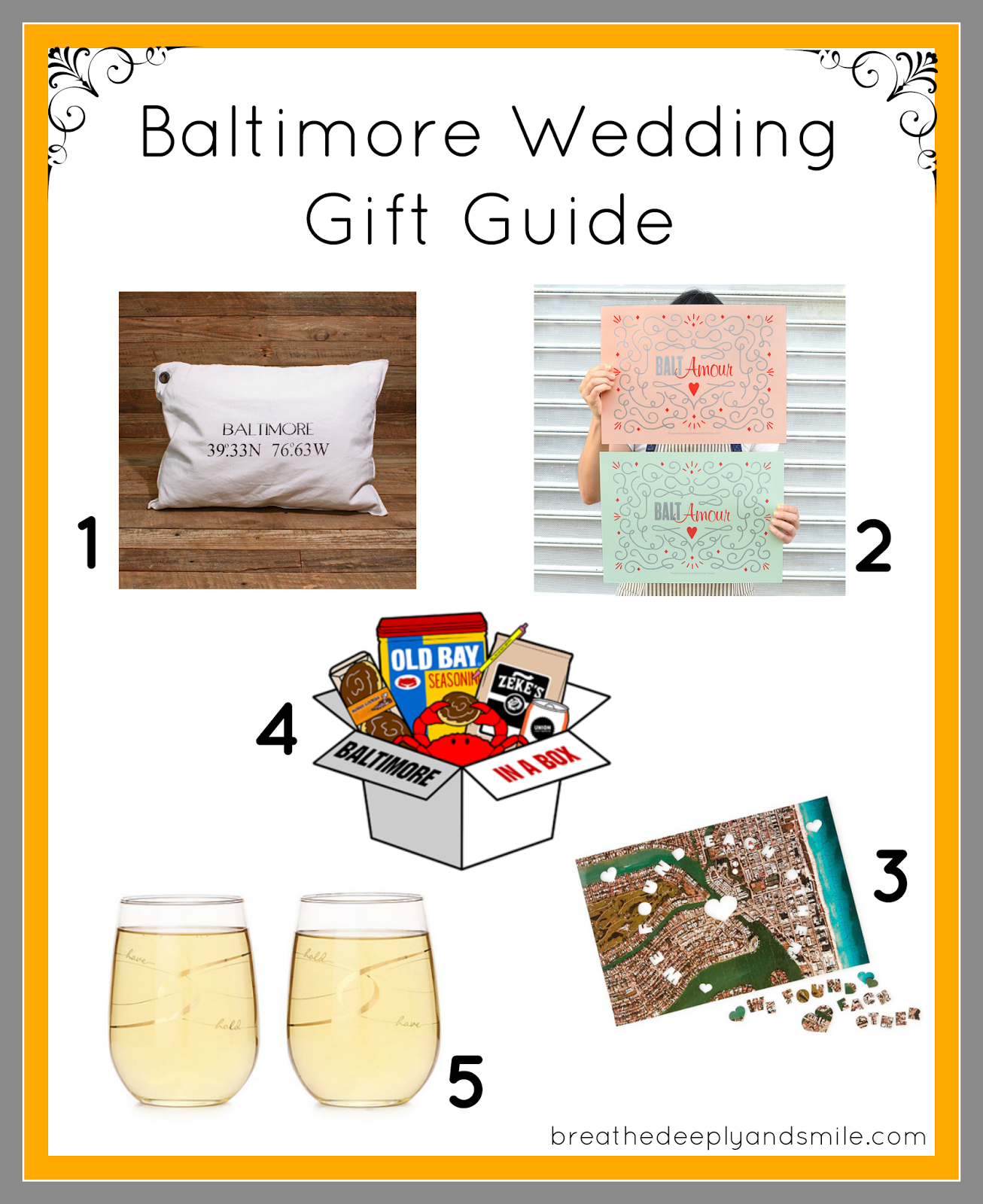 Baltimore Wedding Gift Guide {featuring Uncommon Goods}