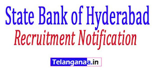 State Bank of Hyderabad Recruitment Notification 2017 Online Apply