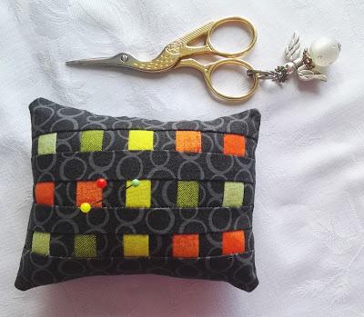 Pincushion, easy sewing