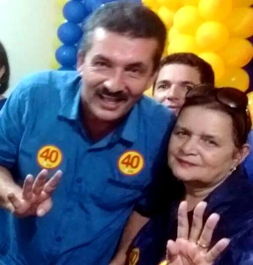 Com Maria Pires na vice, João Camêlo oficializa sua terceira candidatura à Prefeitura de Casinhas