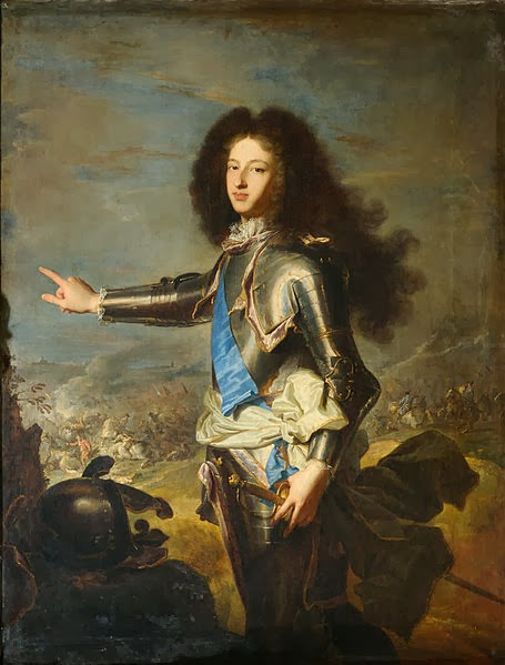Louis, Dauphin of France, Duke of Burgundy by Hyacinthe Rigaud, 1704