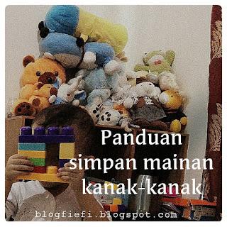 6 Tips Menyimpan Mainan Anak-anak Soleh dan Solehah.