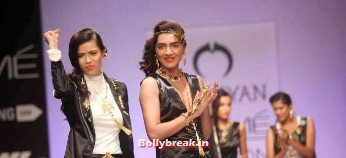 , Valliyan By Nitya Arora Show at Lakme Fashion Week Summer Resort 2014