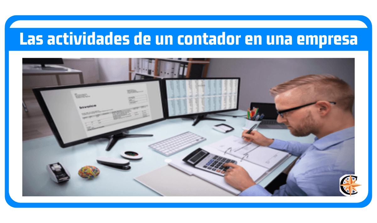 Las actividades de un contador en una empresa
