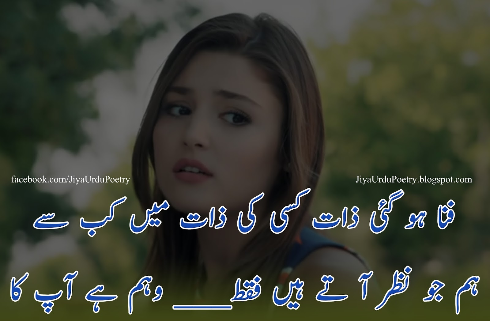 Urdu Poetry Pic