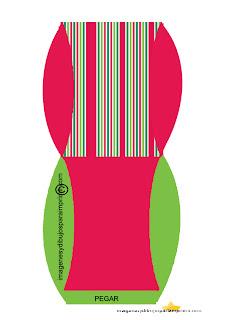 Colores divertidos para navidad Cajas de navidad para imprimir