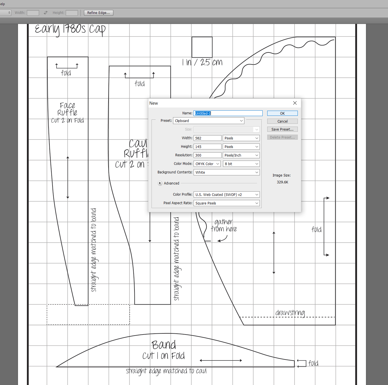 How To Scale Up Gridded Sewing Patterns With Adobe
