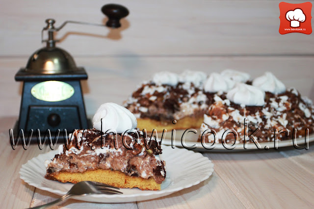 рецепт торта графские развалины с безе с пошаговыми фото