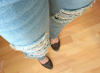 How to style a Boyfriend Jeans Teil 10: Stripes