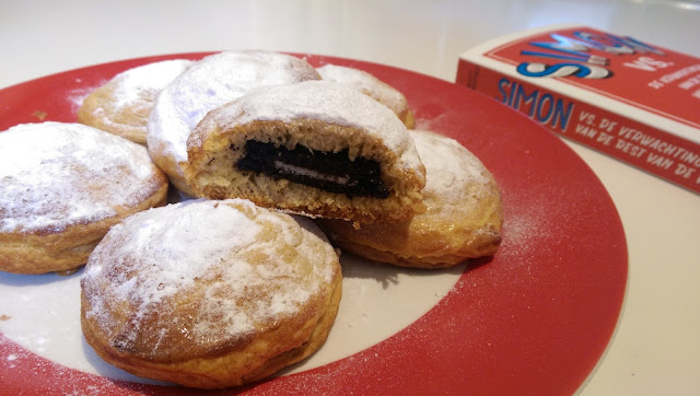 Baked deep fried oreo's recept