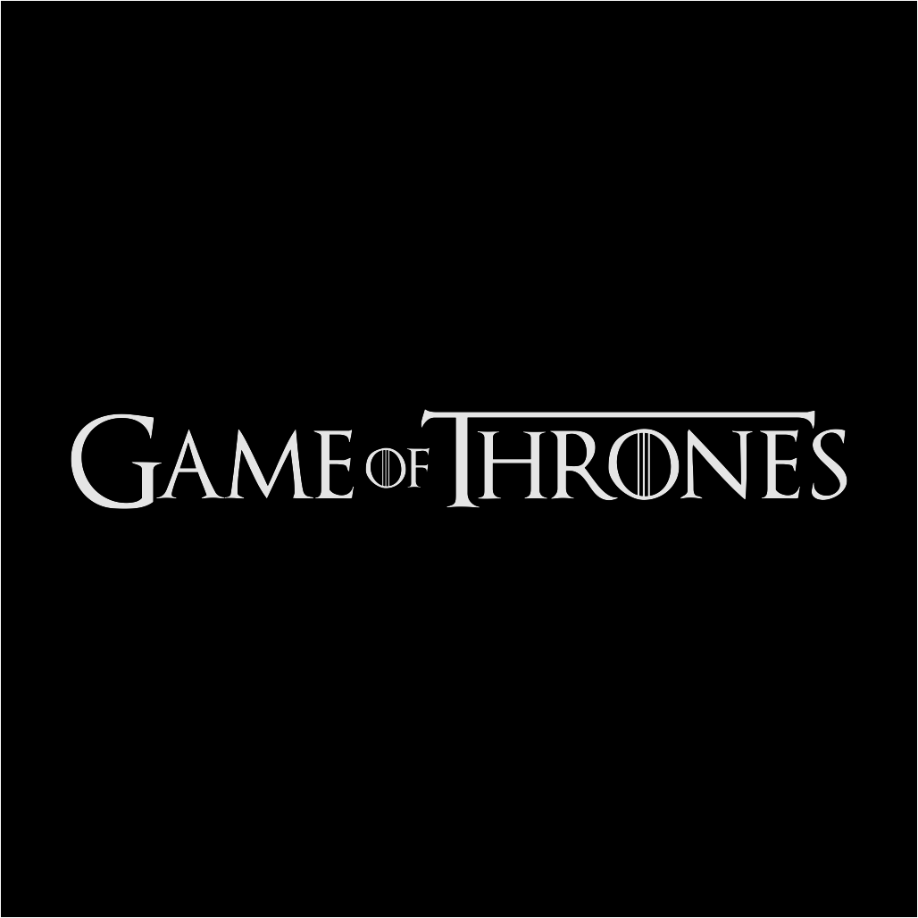 Game Of Thrones Logo Free Download Vector CDR, AI, EPS and PNG Formats