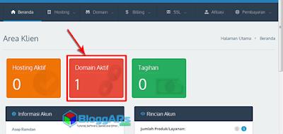 Masuk ke Cpanel Domain Aktif