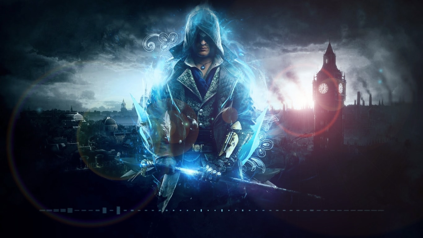 download assassins creed blue wallpaper engine free