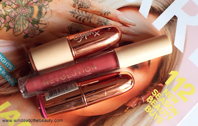 Revolution Lipsticks swatches