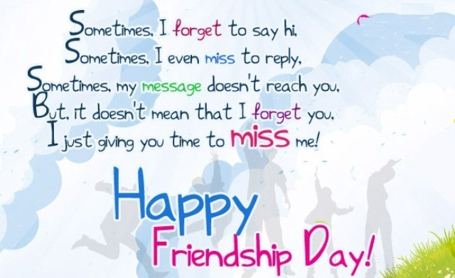 Friendship day Images with Text Messages SMS Shayari words to share with friends