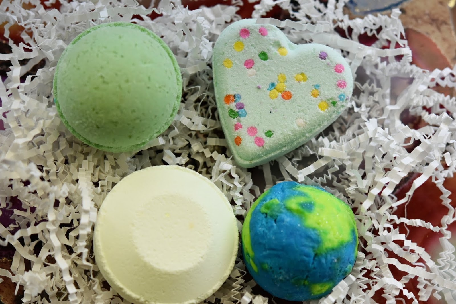 Feel the Luck of the Irish with Sky Organics Bath Bombs  via  www.productreviewmom.com