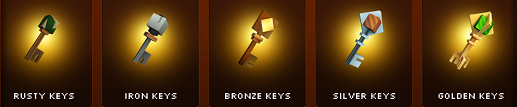 Legacy Quest Chests and Keys