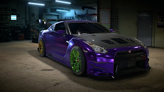 NFS Nintendo 3DS Wallpaper