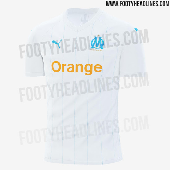Olympique Marseille 19-20 Home, Away, Third & Cup Kits Leaked ...