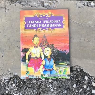"""Buku cerita """"Legenda Terjadinya Candi Prambanan"""" karya Winarno GN"""