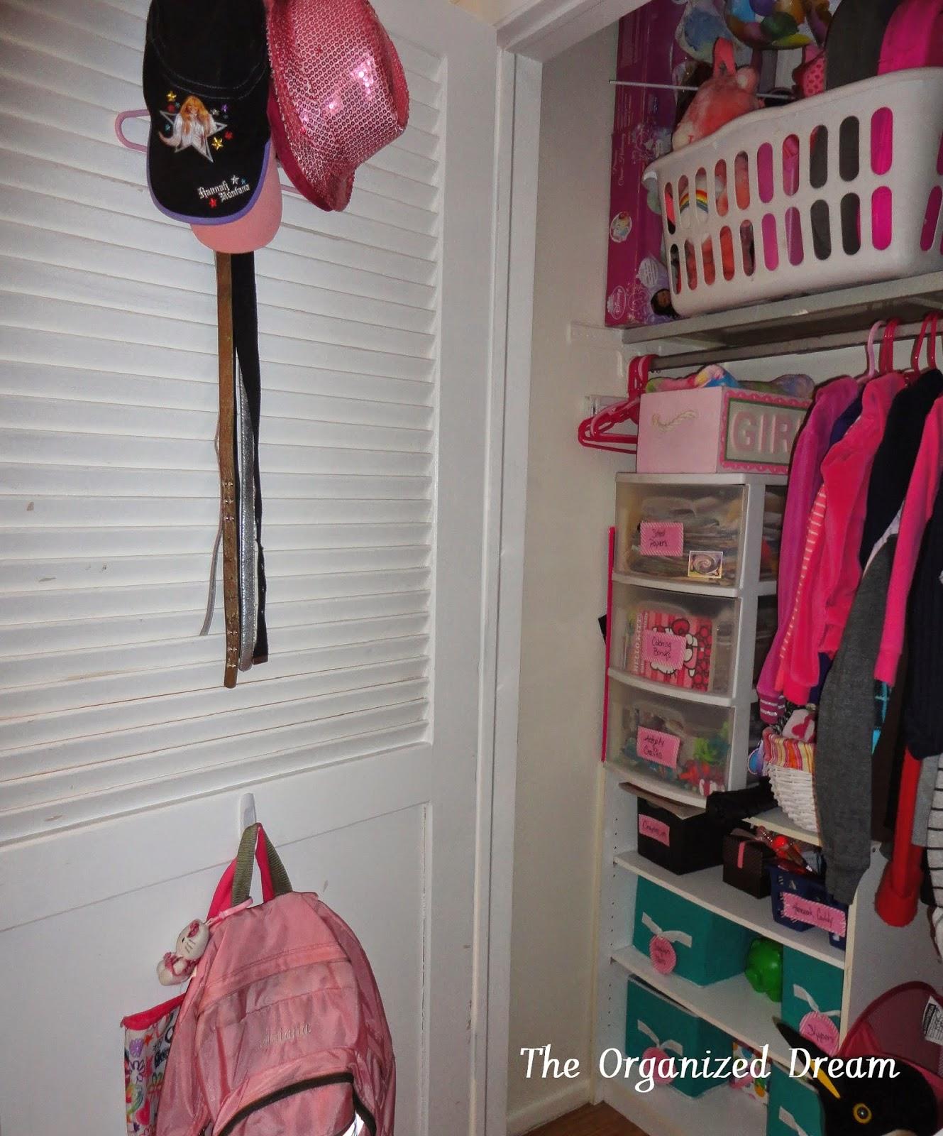 Children's Closet Organization - The Organized Dream