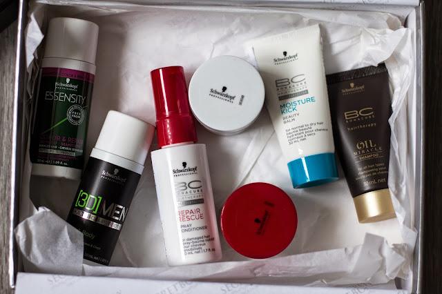 Secretbox& Schwartzkopf Beauty box наполнение и отзыв