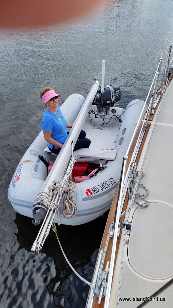 Island Spirit Sailing Adventures: IP35 Boom Refit to Single