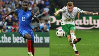 Francia vs Irlanda, Eurocopa 2016