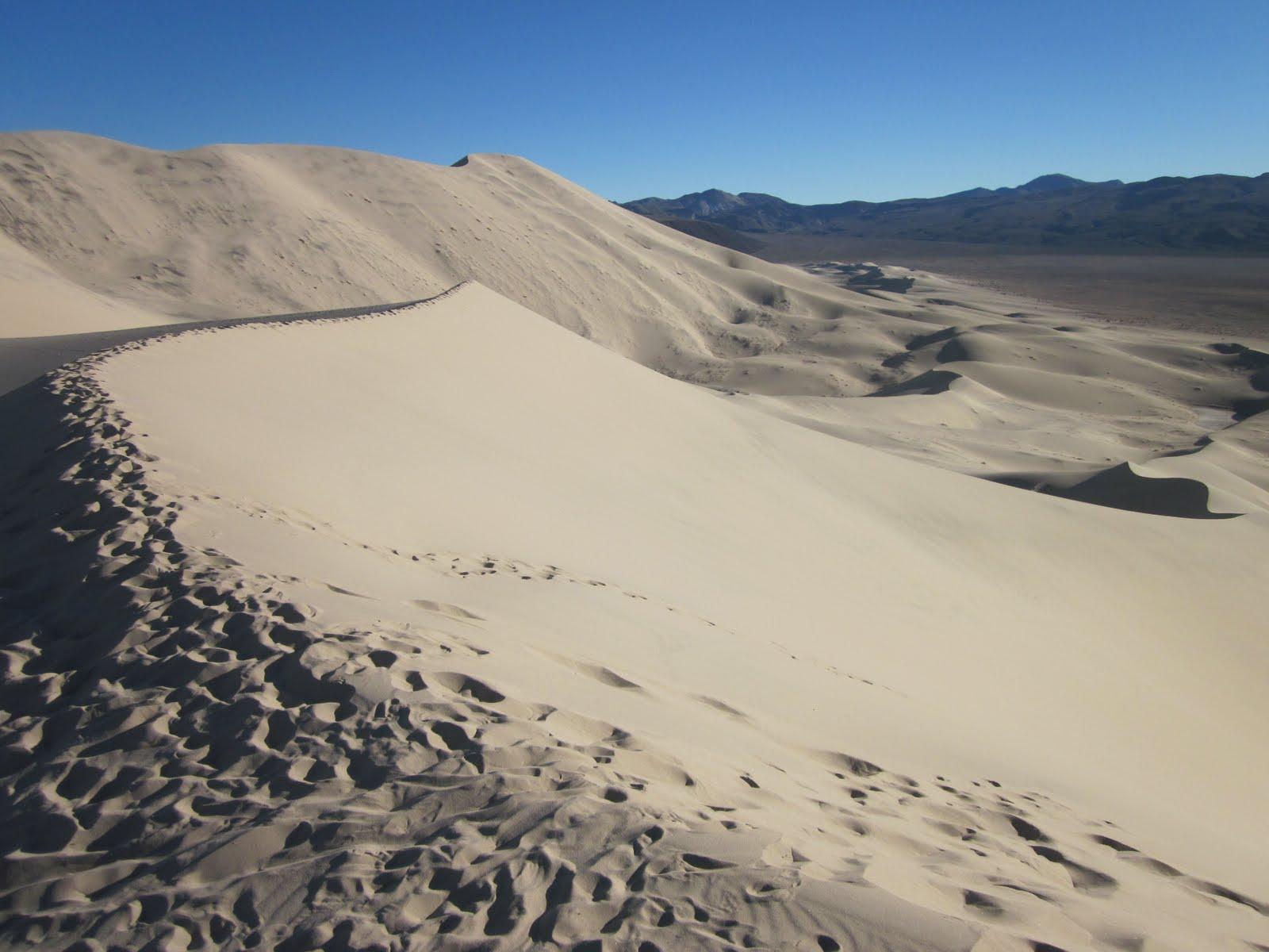 Bishop or Bust!: Eureka Dunes, Death Valley National Park