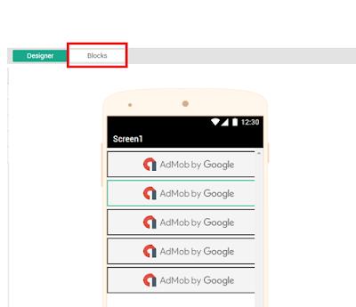 Tips Membuat Aplikasi Admob Impression Dengan Thunkable Tanpa Coding