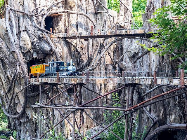 Vanderbilt Travels Railway - Biltmore Garden Train