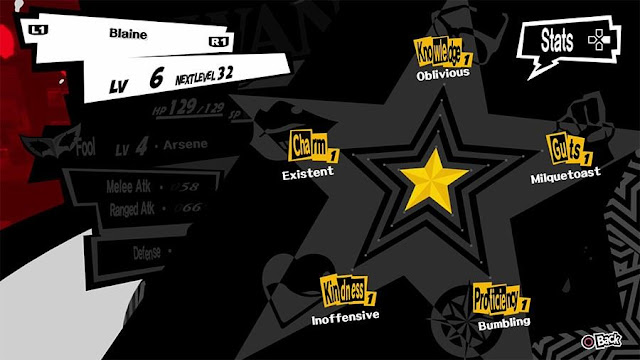 Cara meningkatkan Status Persona 5 [Charm, Guts, Kindness, Knowledge, & Proficiency]