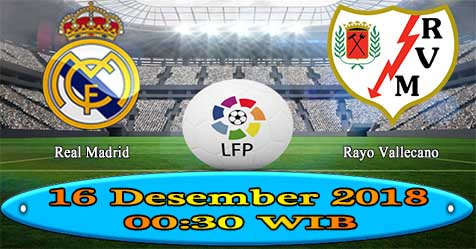Prediksi Bola855 Real Madrid vs Rayo Vallecano 16 Desember 2018