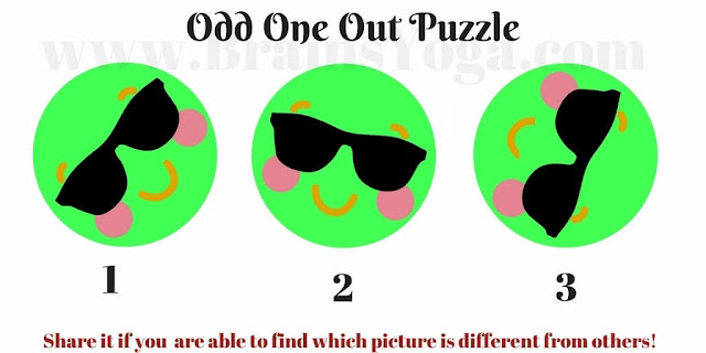 Easy Odd One Out Picture Puzzle