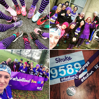 Fitbitches - The March Run Down - The Stroke Association Resolution Run at Heaton Park in Manchester - photo credit : Nickie OHara