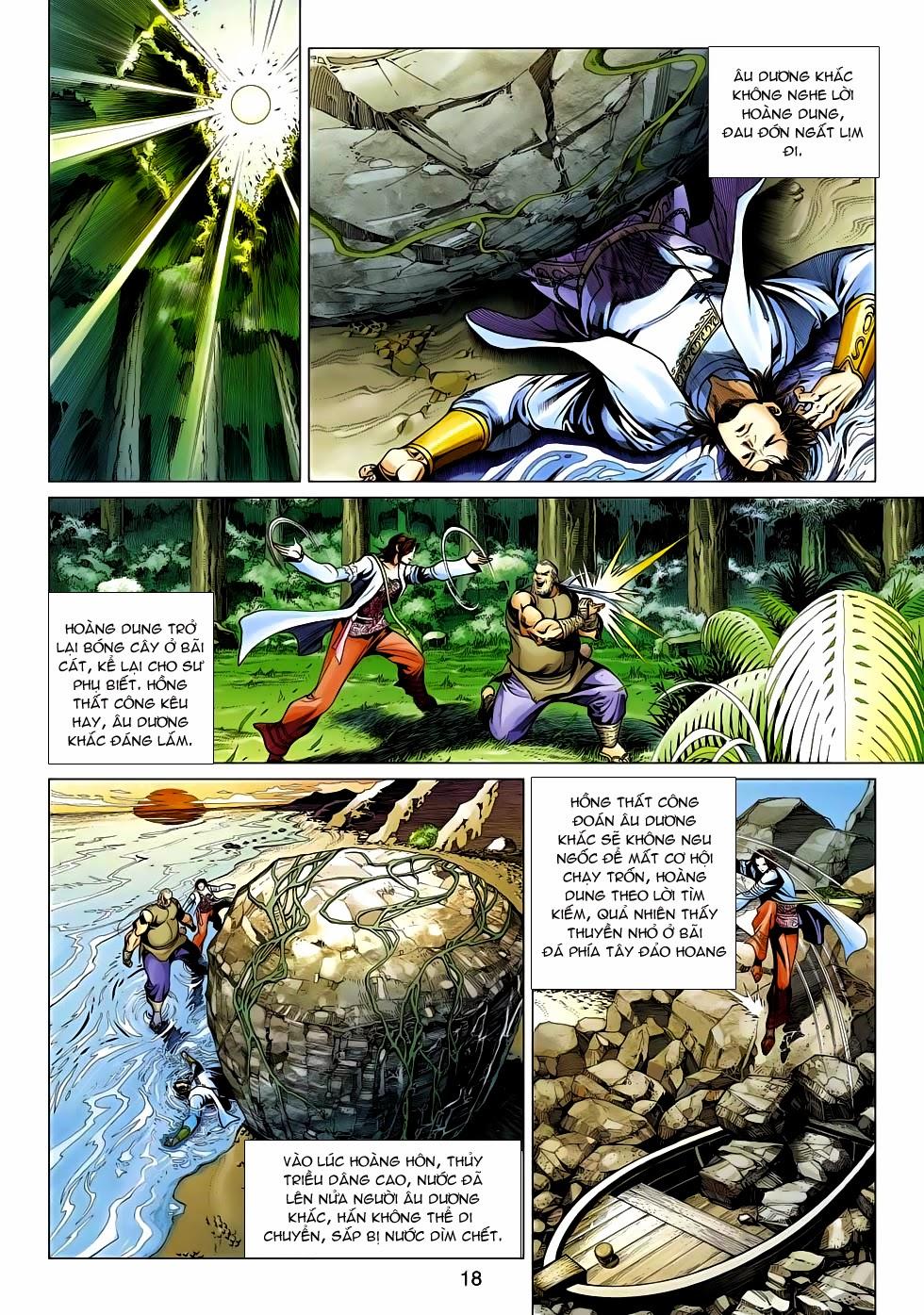 Anh Hùng Xạ Điêu anh hùng xạ đêu chap 54: kiếp hậu dư sinh thiến nữ kỳ mưu trang 18