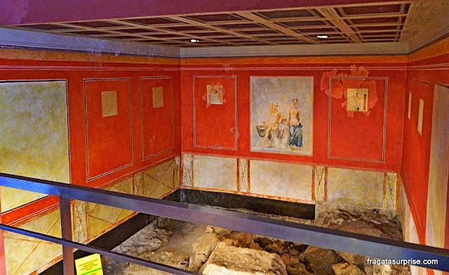 Cádiz, Andaluzia: Sítio Arqueológico Casa del Obispo