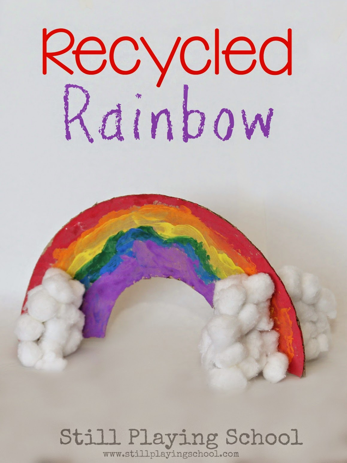 Rainbow Fine Motor Ideas Still Playing School