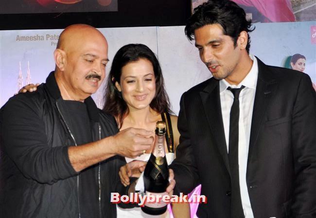 Rakesh Roshan, Amisha Patel and Zayed Khan