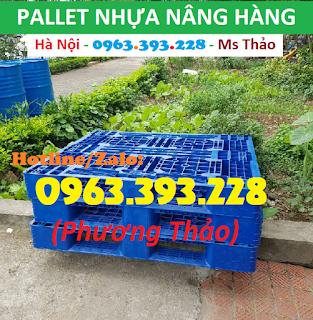 Pallet nhựa nâng hàng, Pallet nhựa kê hàng giá tốt tại Hà Nội