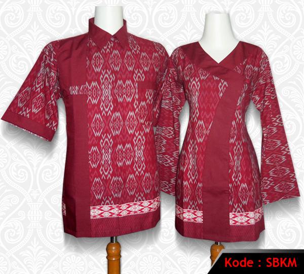 Model Baju Batik Kerja Untuk Tubuh Gemuk: 10 Model Baju Batik Kantor Kombinasi Polos Terkini