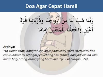 Ini Ia Doa Supaya Cepat Hamil Dan Memiliki Keturunan Dalam Al-Quran