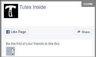 Facebook Pop Up Box