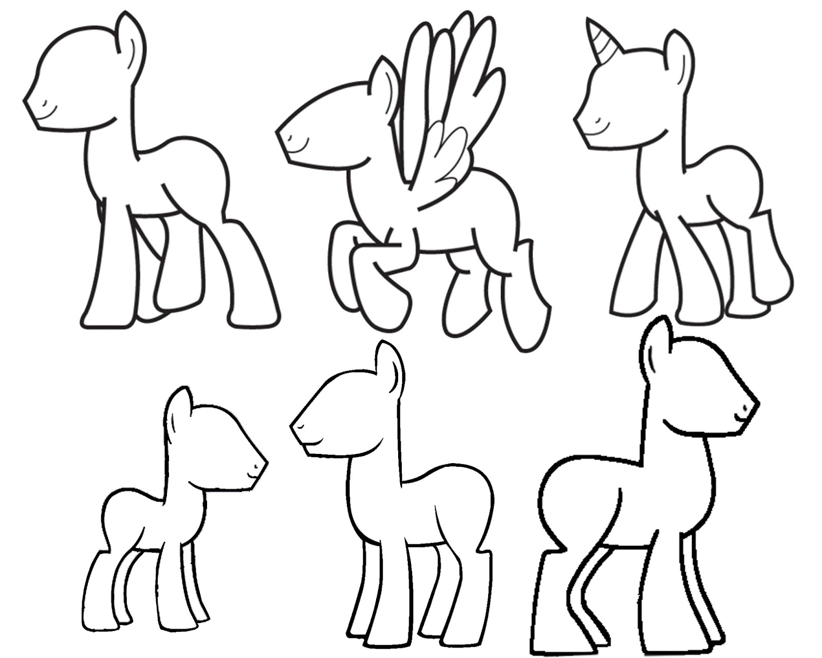 Enjoyable Doodlecraft Design And Draw Your Own My Little Pony Hairstyles For Women Draintrainus